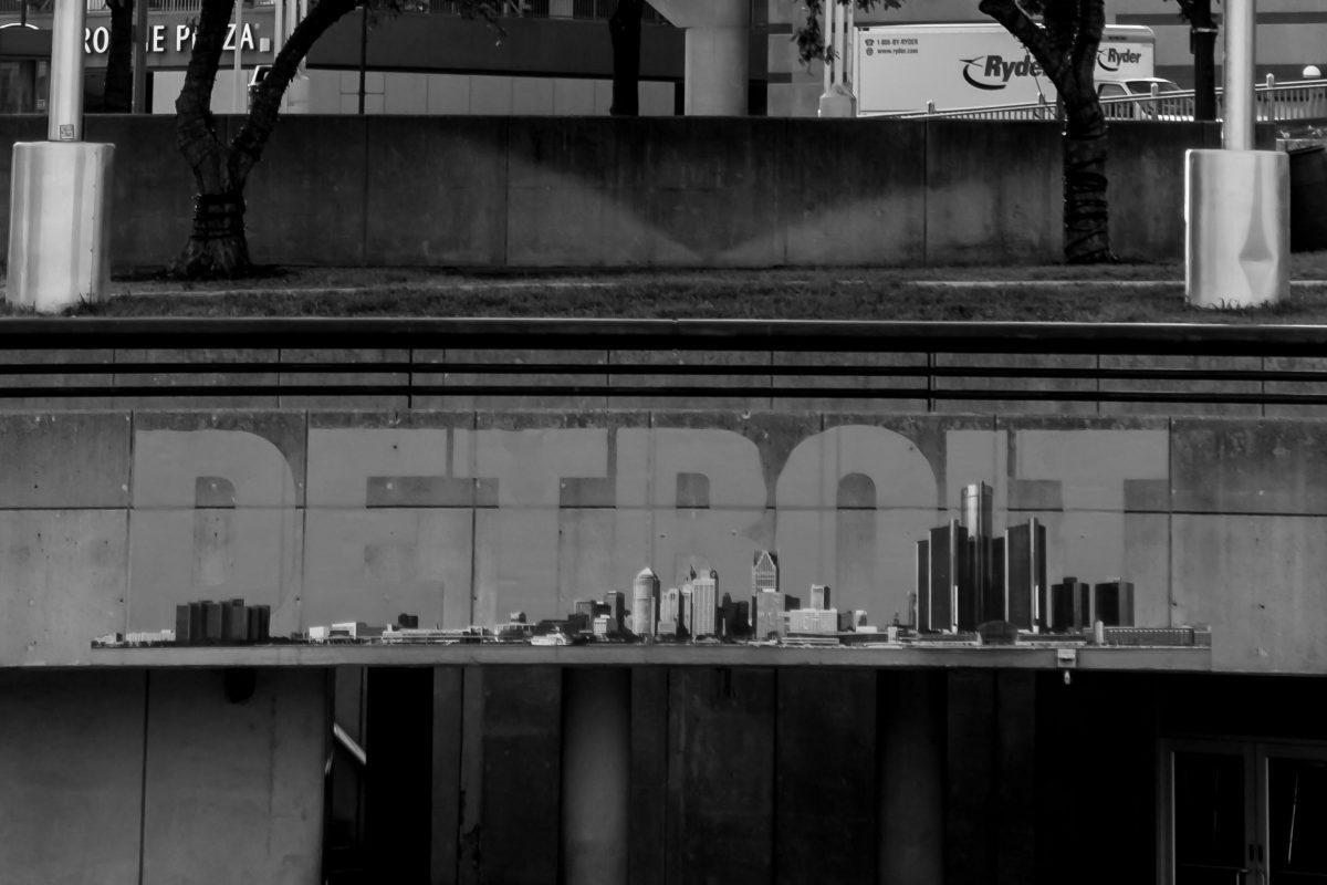 Main amphitheater Detroit