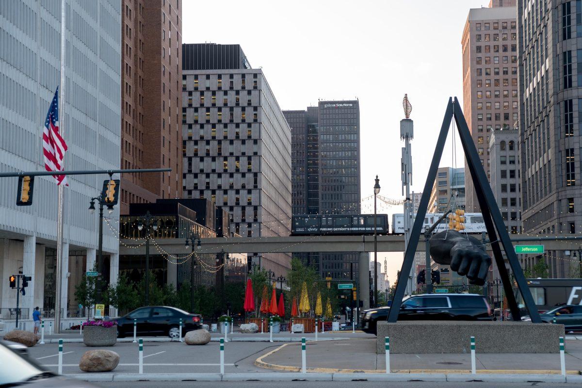 Monument to Joe Louis