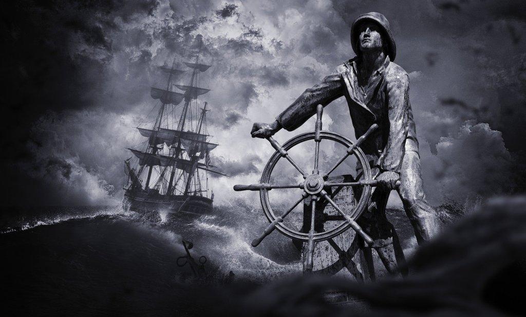 marin, tempête, voilier, naufrage