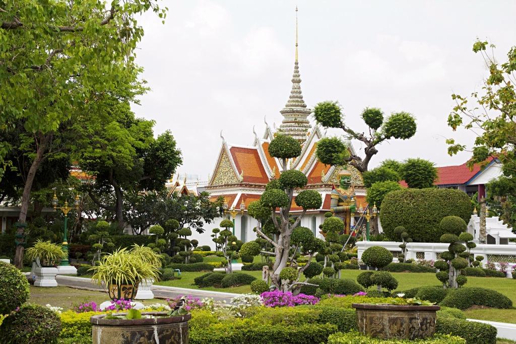 temple, thaïlande, wat arun