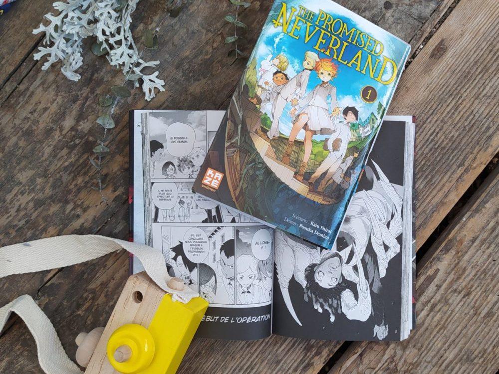 sélection manga the promised neverland