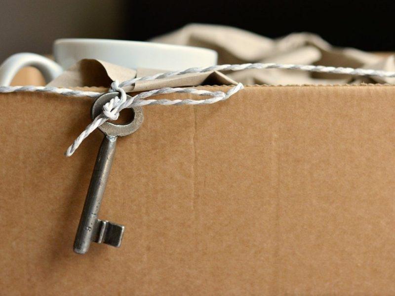 carton clé déménagement
