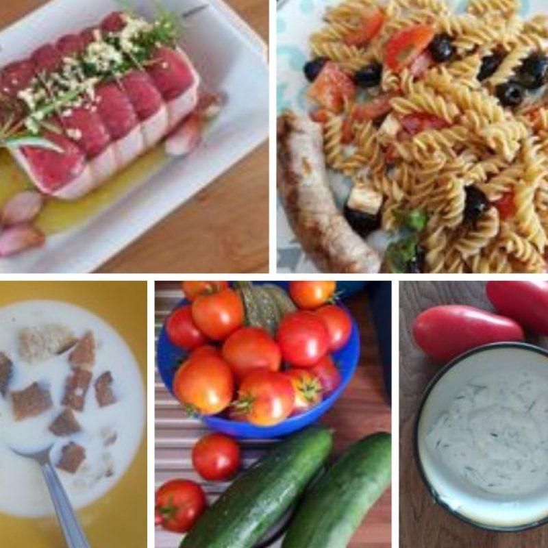 Les plats qui sentent bons l'été