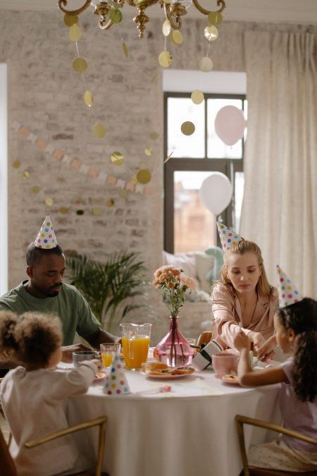 fête anniversaire famille